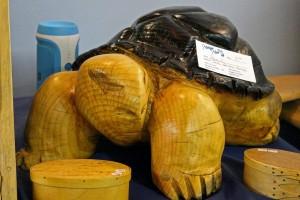 Wood Carved Tortoise